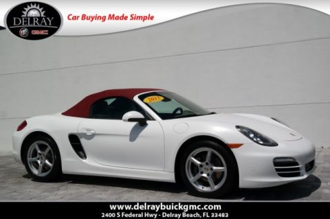Pre-Owned 2013 Porsche Boxster Base