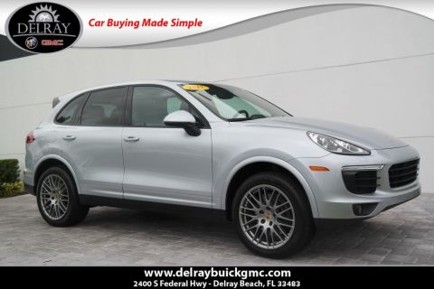 Pre-Owned 2017 Porsche Cayenne Platinum Edition With Navigation & AWD